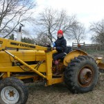Learning to drive the tractor like Pa!