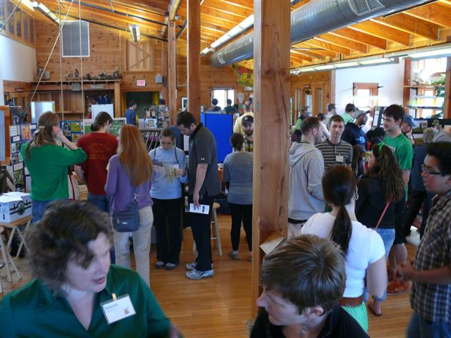 Local farmer open house at the Urban Ecology Center